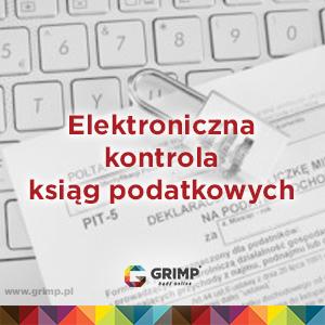 elektroniczne księgi podatkowe
