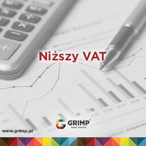 niższy podatek vat w zależności od formy prowadzenia działalności