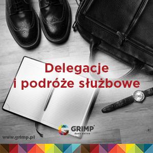 grimp radzi jak rozliczać delegacje i podróże służbowe