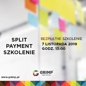 szkolenie split payment