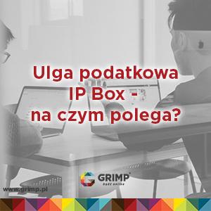 ulga podatkowa ip box