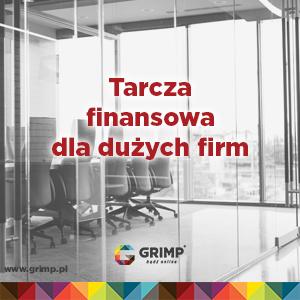 tarcza finansowa dla dużych firm